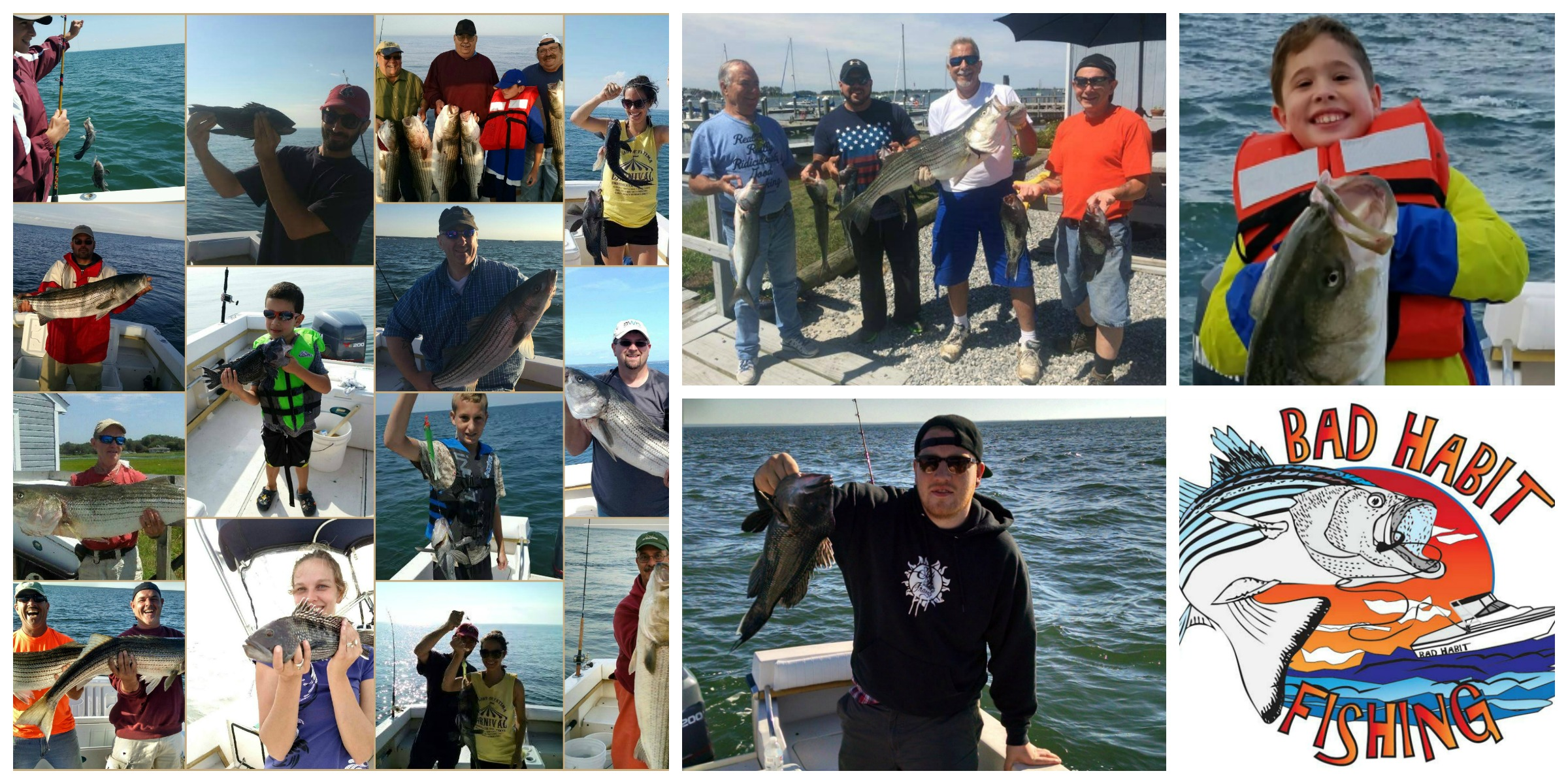 Bad habit fishing charters offers affordable charter for Fishing trips in ct