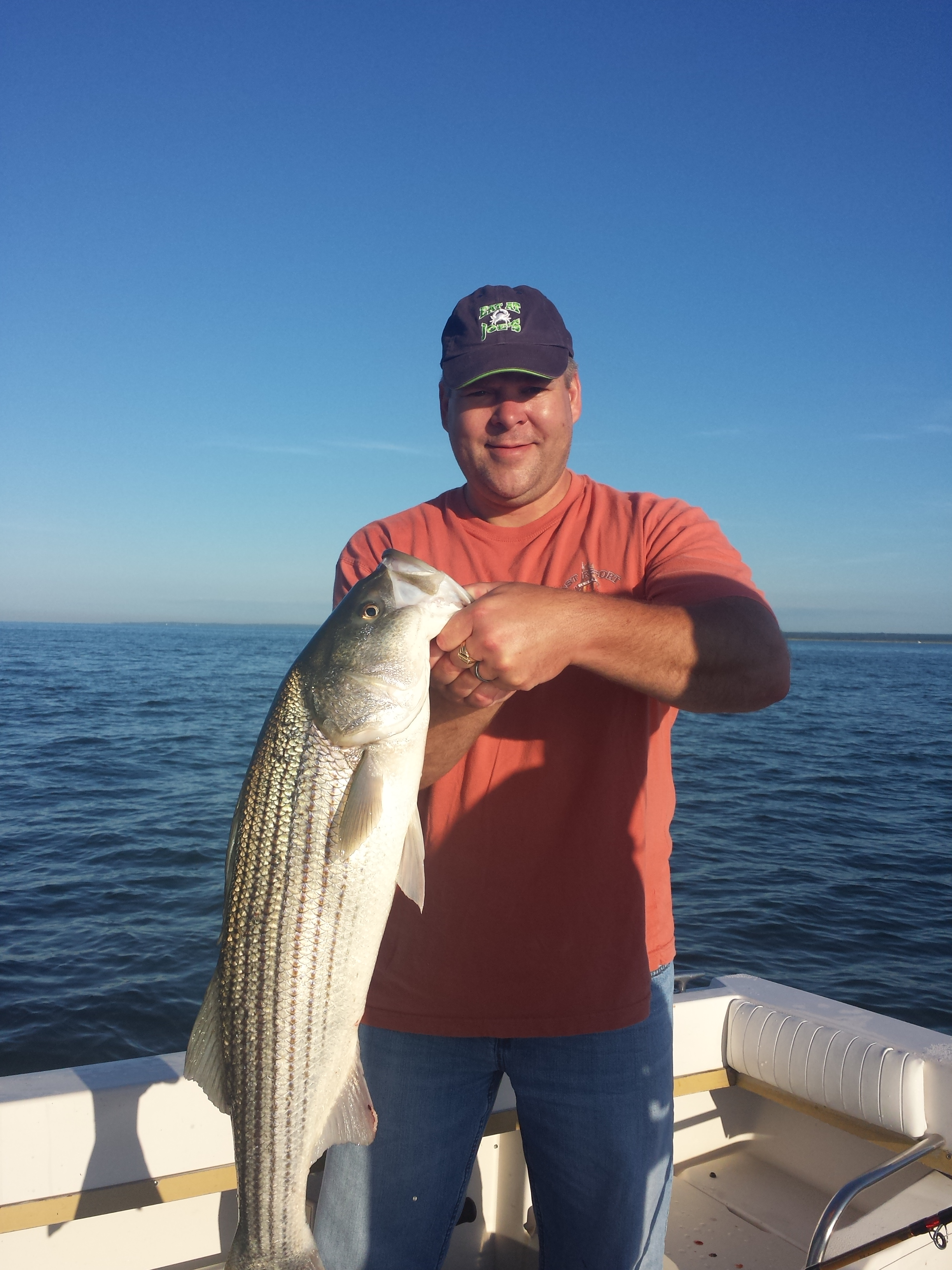 Charter fishing trips out of clinton connecticut bad for Charter fishing trip
